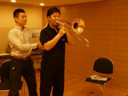 管楽器のアクティビティレッスン