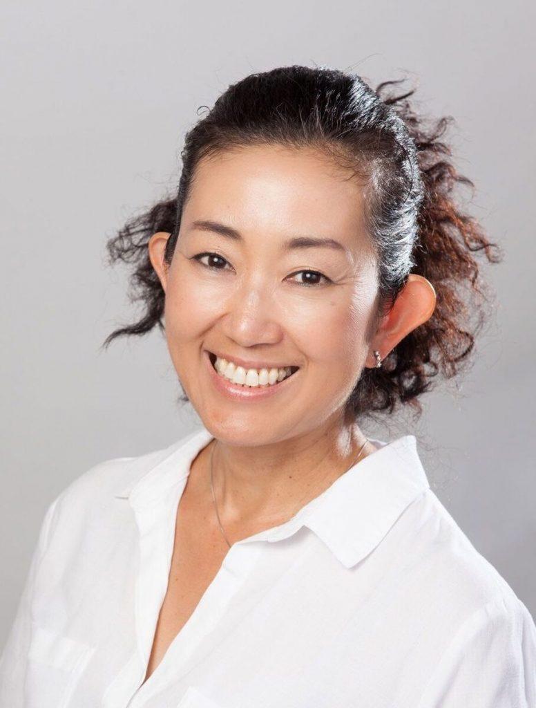 マスダ J. 逸子さんの顔写真